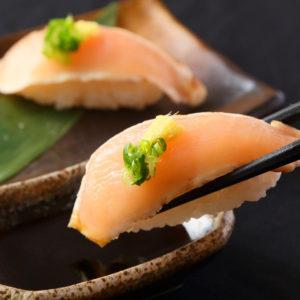 朝引き鶏の握り寿司盛り_1