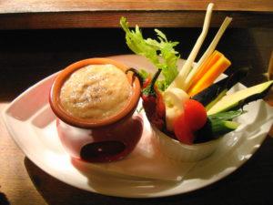 自家製ソースと野菜の花畑バーニャカウダ_2
