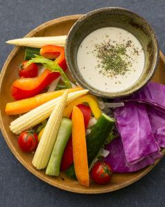 自家製ソースと野菜の花畑バーニャカウダ_6